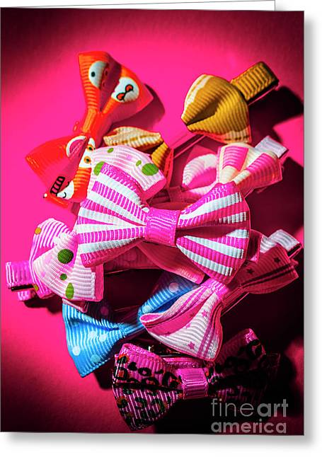 Bow Tie Fashion Show Greeting Card by Jorgo Photography - Wall Art Gallery