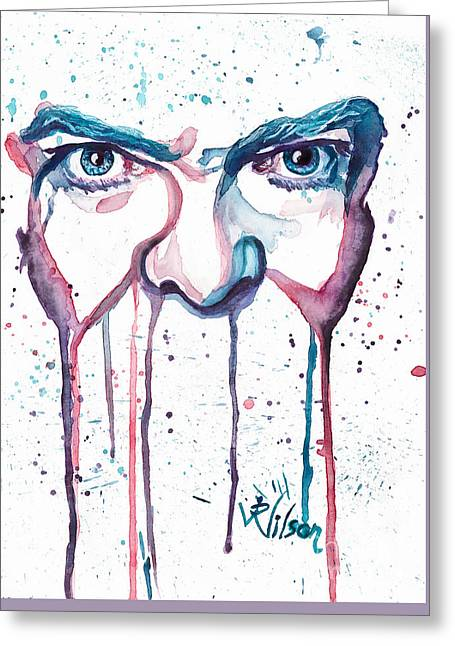 Bowie Greeting Card by D Renee Wilson