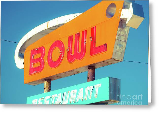 Bowl Tonight Greeting Card