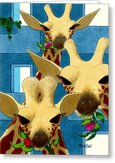 Box Lunch Greeting Card by Tom Dickson