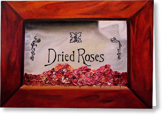 Box Of Roses Greeting Card