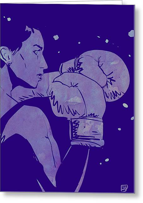 Boxing Club 2 Greeting Card