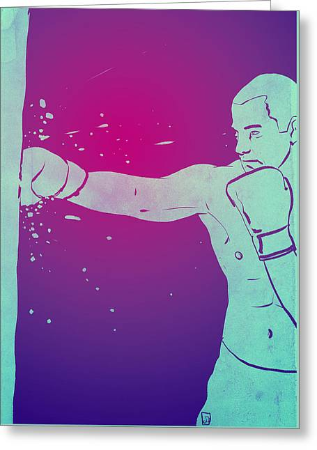 Boxing Club 6 Greeting Card