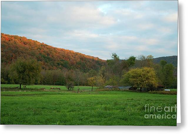 Boxley Valley Arkansas Greeting Card