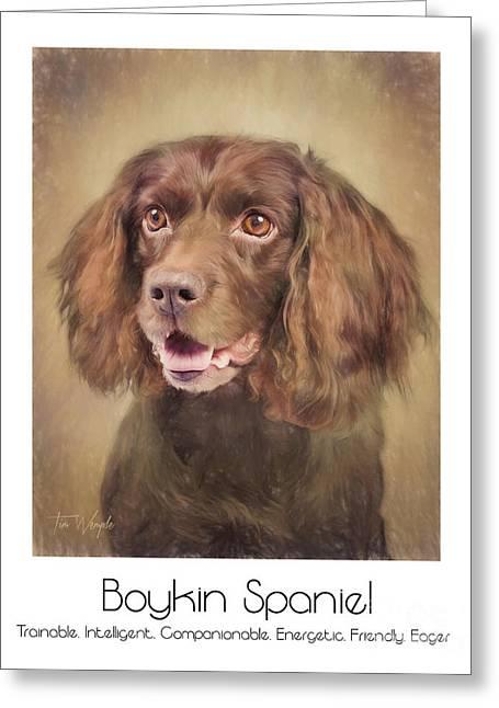 Boykin Spaniel Poster Greeting Card