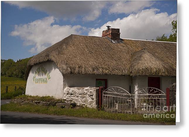 Boyne Valley Cottage Greeting Card by Philippe Boite