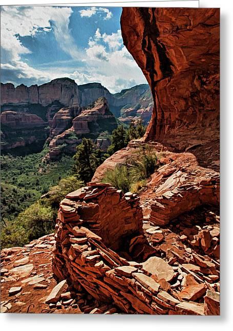 Boynton Canyon 08-160 Greeting Card