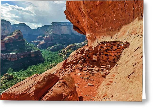 Boynton Canyon 08-174 Greeting Card