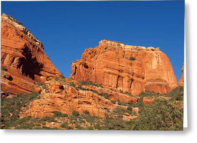 Boynton Canyon Red Rock Secret Greeting Card by Panoramic Images