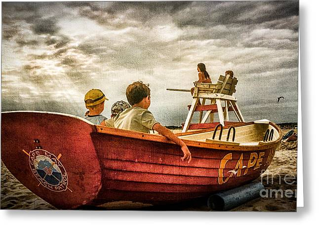 Boys Of Summer Cape May New Jersey Greeting Card