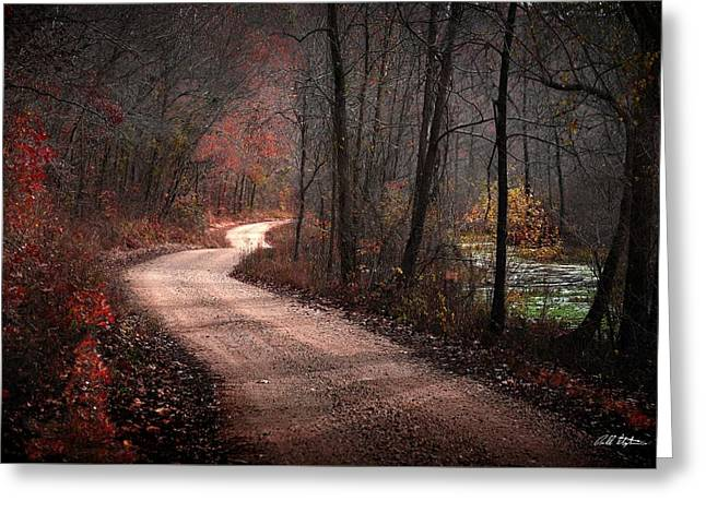 Boz Mill Road Greeting Card by Bill Stephens