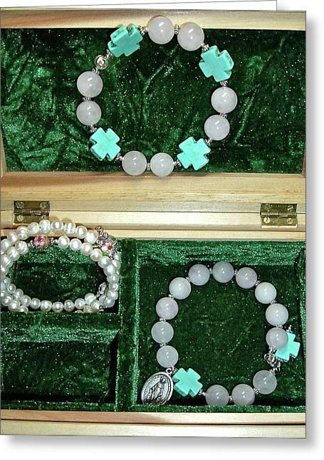 Bracelets Of Faith Greeting Card