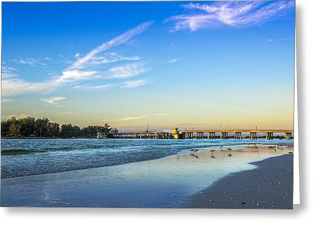 Bradenton Inlet Greeting Card by Marvin Spates