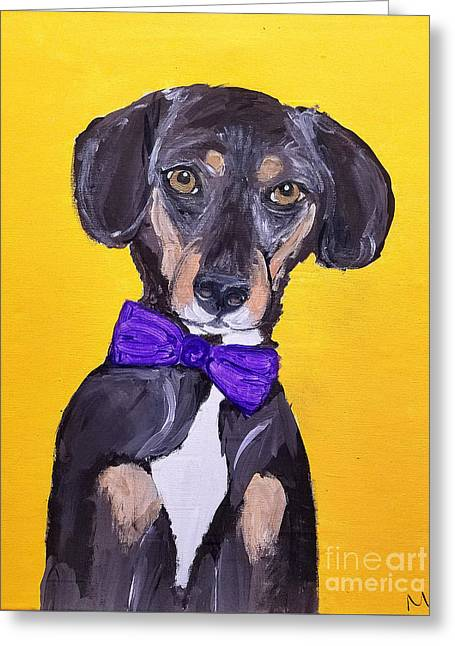 Brady Date With Paint Nov 20th Greeting Card