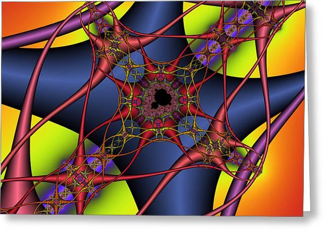 Brain Cells 134 Greeting Card by Rolf Bertram