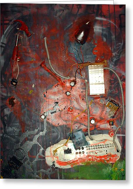 Brain Surgery Greeting Card by Leigh Odom