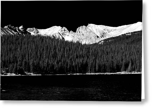 Brainard Lake - Indian Peaks Greeting Card by James BO  Insogna