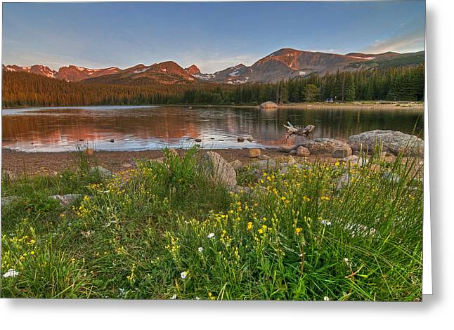 Brainard Lake Greeting Card