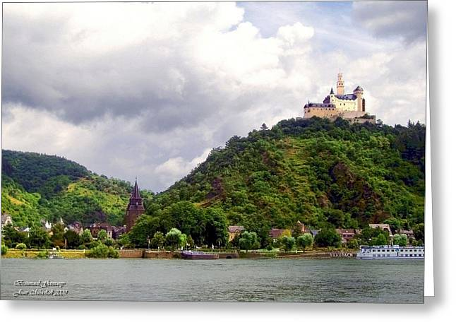 Greeting Card featuring the photograph Brambach Germany by Joan  Minchak
