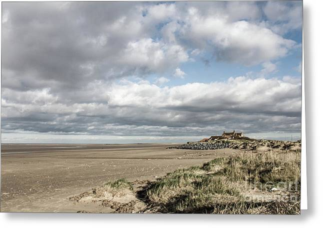 Brancaster Beach Norfolk England Greeting Card by John Edwards