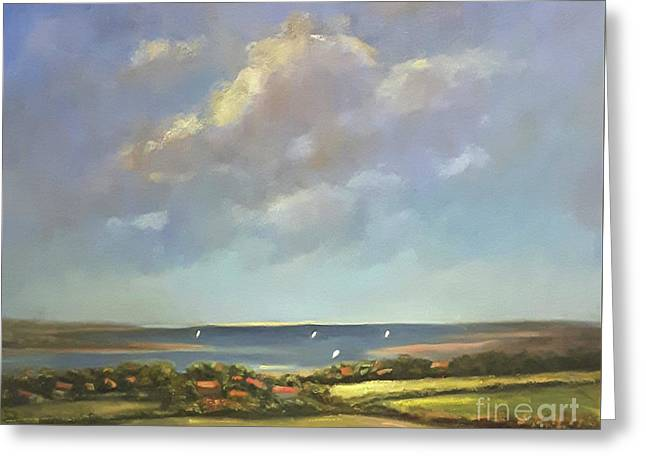 Brancaster Staithes, Norfolk Greeting Card