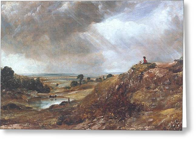 Branch Hill Pond Greeting Card by John Constable