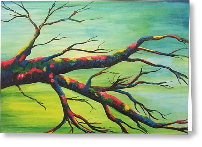 Branching Out In Color Greeting Card