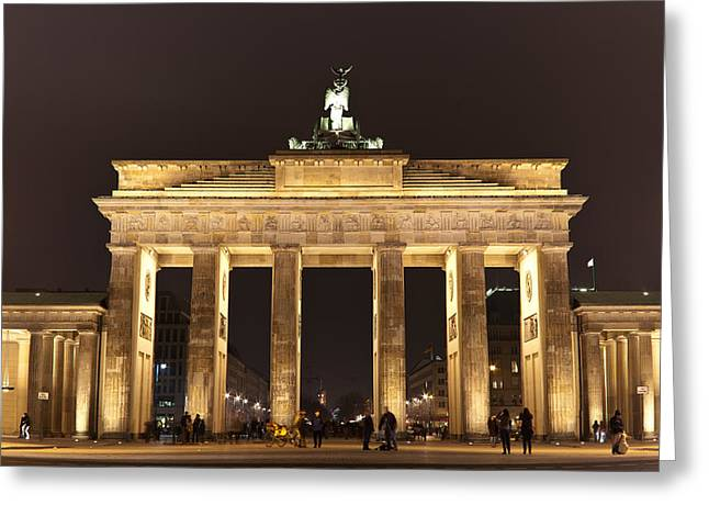 Brandenburg Gate Greeting Card