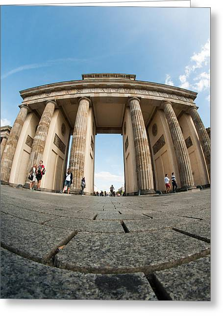 Brandenburg Gate  Greeting Card by Nathan Wright