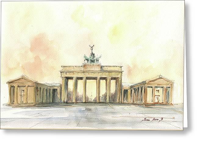 Brandenburger Tor, Berlin Greeting Card