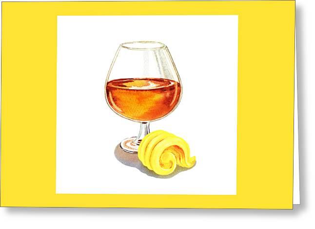 Brandy Butter Greeting Card by Irina Sztukowski
