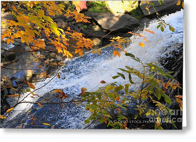 D30a-18 Brandywine Falls Photo Greeting Card