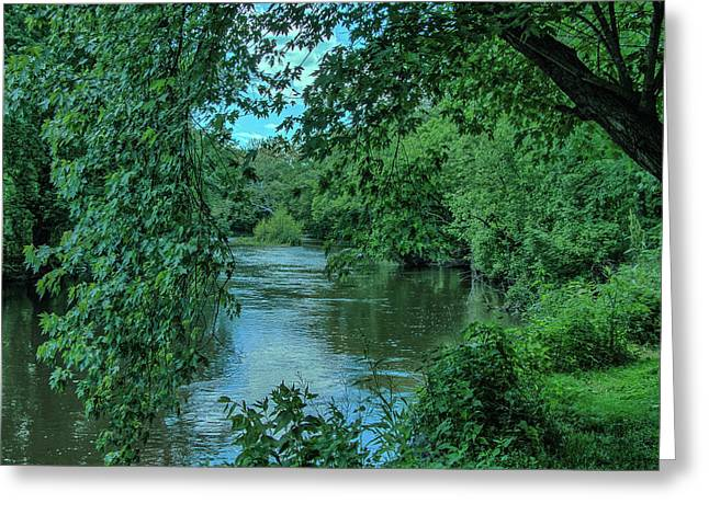 Greeting Card featuring the photograph Brandywine River by Richard Goldman