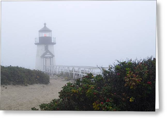 Brant Point Mist - Nantucket Greeting Card