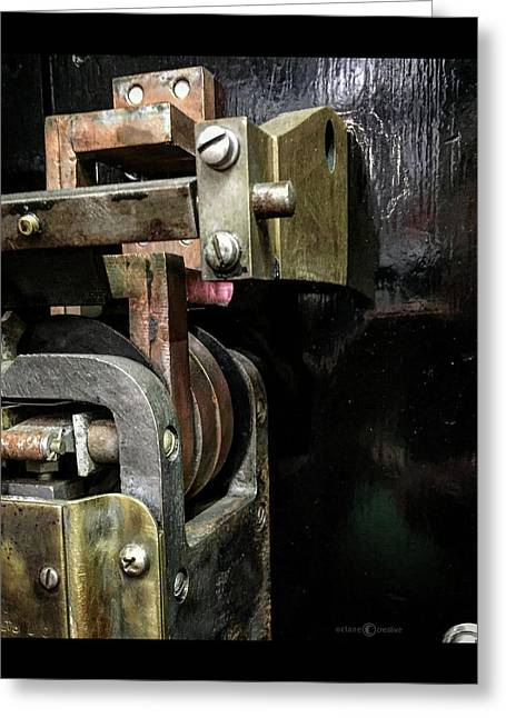 Brass Fittings Greeting Card by Tim Nyberg