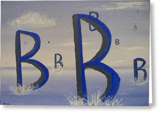 Bravo Greeting Card by Rod Schneider
