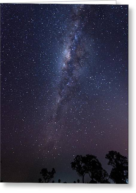 Greeting Card featuring the photograph Brazil By Starlight by Alex Lapidus