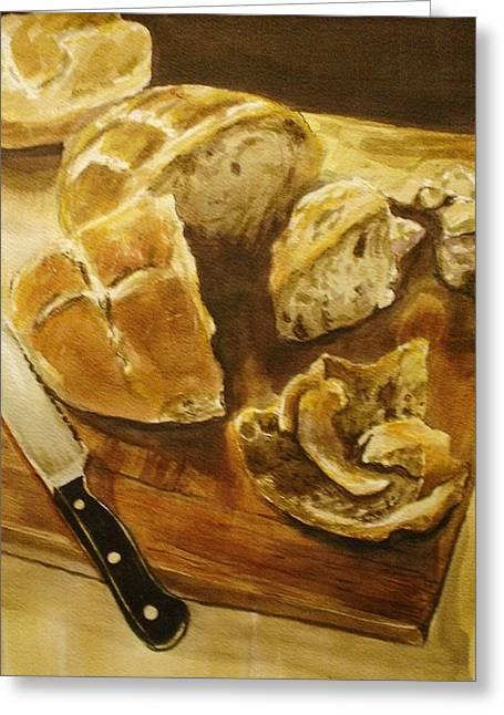 Bread Board Greeting Card