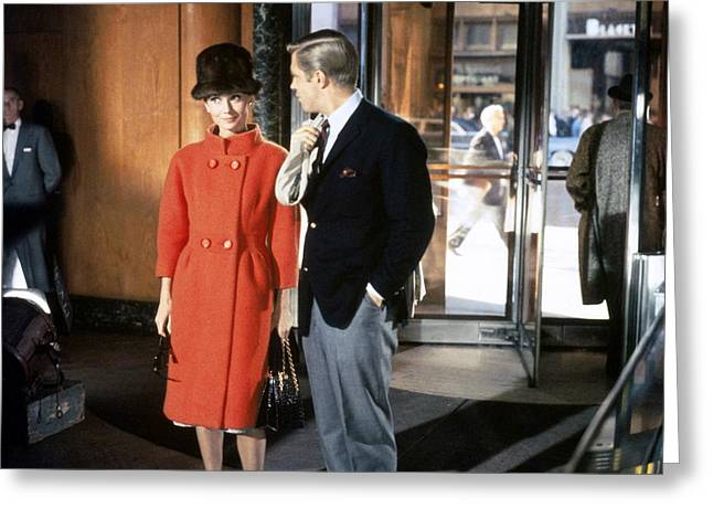 Breakfast At Tiffany's Promotional Photo Greeting Card