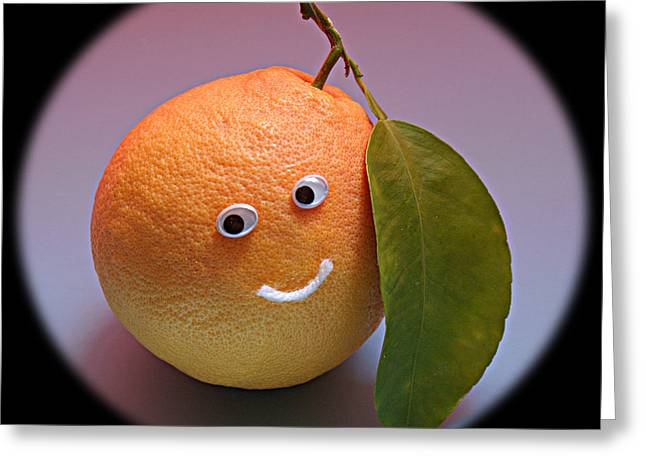 Breakfast Smile Greeting Card by Greg Taylor
