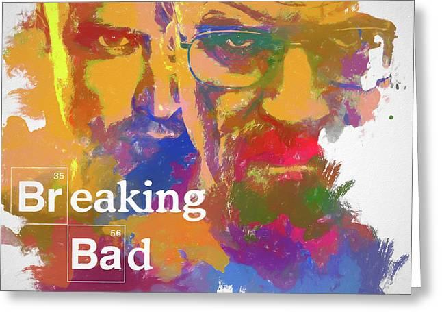Breaking Bad Watercolor Greeting Card