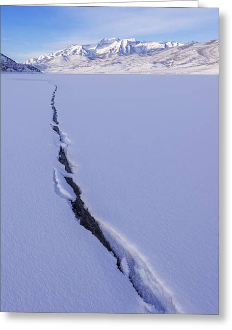 Breaking Ice Greeting Card