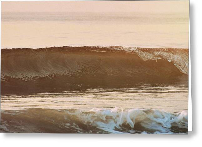 Breaking Wave Greeting Card by JAMART Photography