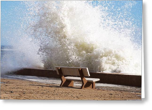 Breaking Wave Greeting Card