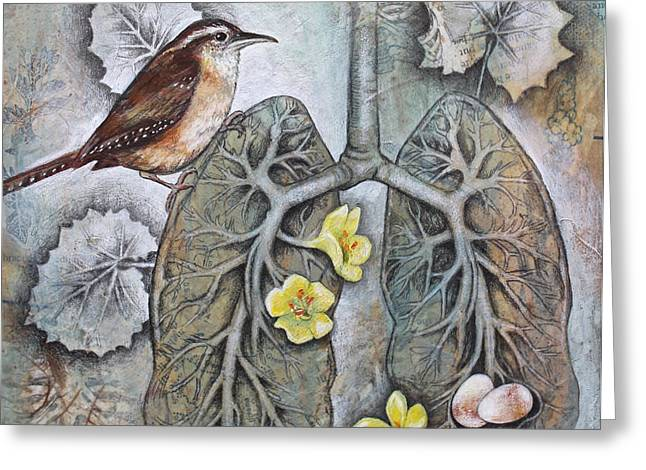 Breath Of Life Greeting Card by Sheri Howe
