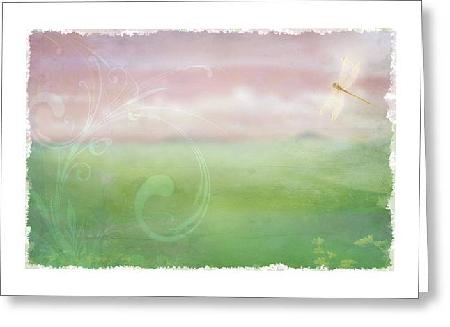 Breath Of Spring Greeting Card
