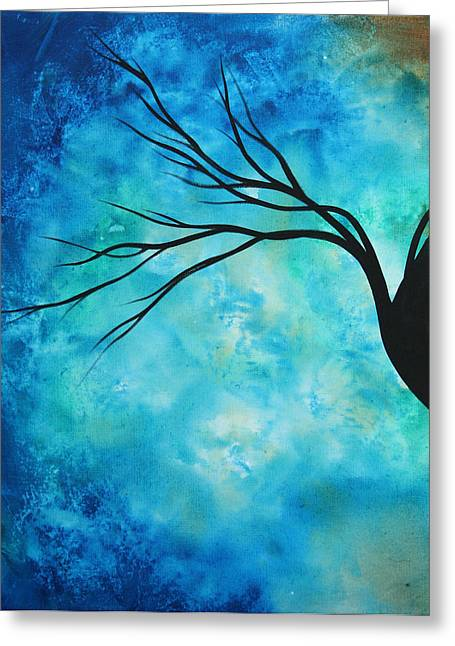 Licensor Greeting Cards - Breathless 1 by MADART Greeting Card by Megan Duncanson