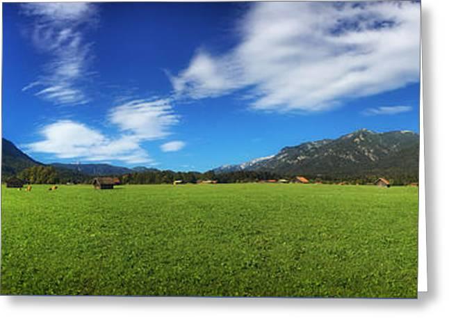 Breathtaking Alpine Meadow Greeting Card by Mountain Dreams