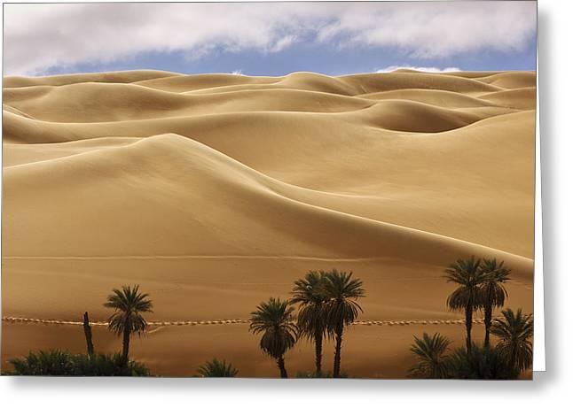 Breathtaking Sand Dunes Greeting Card