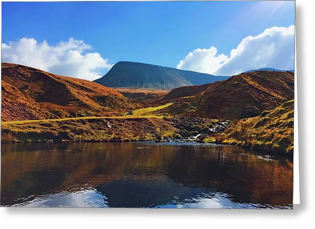 Brecon Beacons National Park Greeting Card by Tom Rickhuss